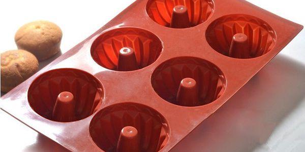 Silikonová forma na pečení - malé bábovky a poštovné ZDARMA! - 706985