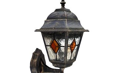 Venkovní nástěnné svítidlo Rabalux Monaco 8182 antická zlatá