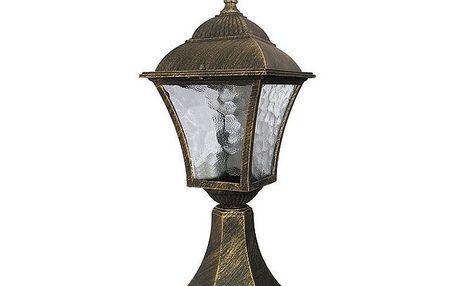 Venkovní stojací lampa Rabalux Toscana antická zlatá 8393