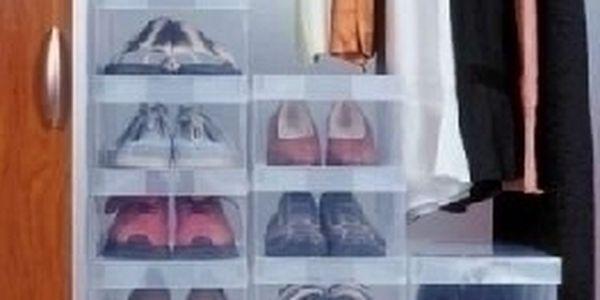 Úložná krabice na boty pomůže zorganizovat a udržet pořádek ve vaší kolekci obuvi.