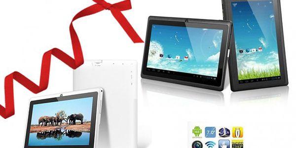 Multimediální 7 palcový tablet Q88 OS Android 4.0 - poštovné ZDARMA!
