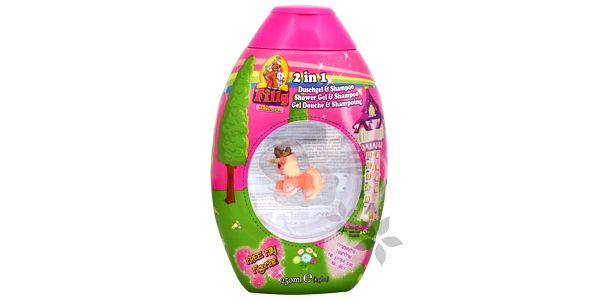 EP Line Sprchový gel a šampon 2 v 1 s figurkou Filly Unicorn (Shower Gel & Shampoo) 250 ml