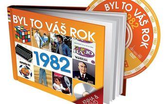 Retro dárková knížka s DVD - Byl to váš rok 1982
