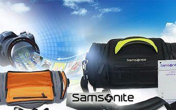 Cestovní pouzdro Samsonite na fotoaparát nebo kameru! Mějte svou elektroniku na cestách v bezpečí ve stylovém pouzdře za fantastickou cenu 299 Kč včetně poštovného!