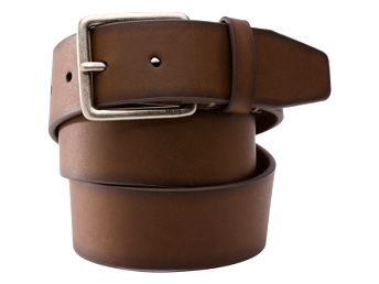Pásek - vans sawyer leather belt l
