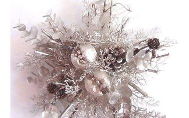 Dekorativní závěsná hvězda - vánoční