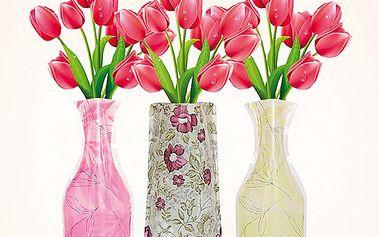 Skládací vázy, sada 3 ks