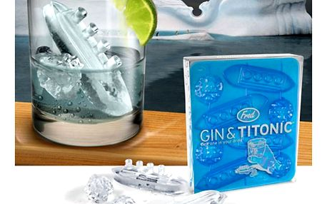 Forma na led Ledový Titanic