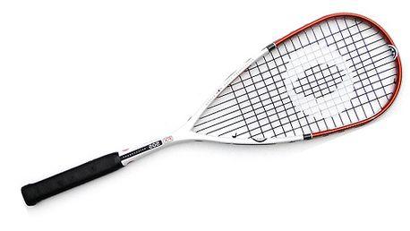 Lehká a odolná squashová raketa OLIVER včetně termoobalu a míčku