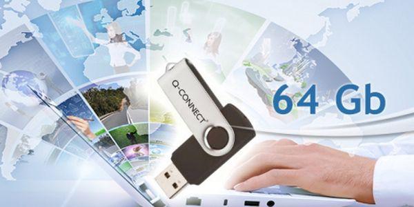 Stop malým flash diskům! Na Vaší novou flashku o kapacitě 64 GB se vejde vše! Fotky, hudba, dokumenty, videa. Vaše data stále při ruce za neodolatelných 399 Kč!