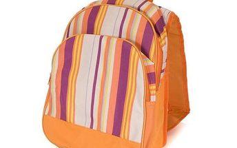 Chladící batoh, oranžový dekor 38