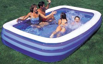 Bazén nafukovací Family 3-komorový 305x183x56 cm, Acra