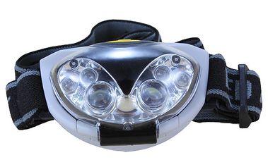 6 LED diodová čelovka na 3x AAA baterie a poštovné ZDARMA! - 8407060