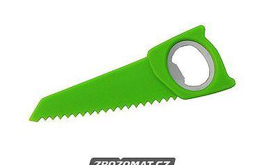 Bottle Saw - stylový otvírák na lahve a nůž v jednom!