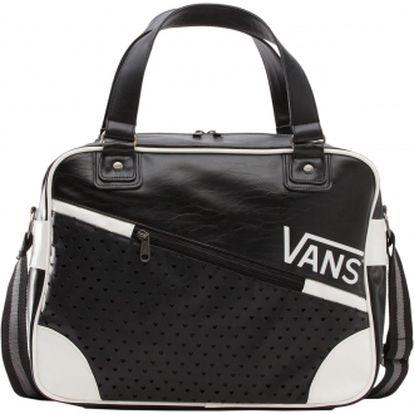 Dámská kabelka - vans vindicate retro traveler bag černo-bílá osfa