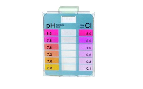 Tabletový tester na Cl a pH, Marimex
