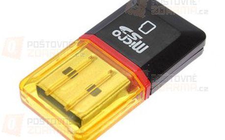 Přenosná USB čtečka Micro SD/SDHC karet a poštovné ZDARMA! - 9707066