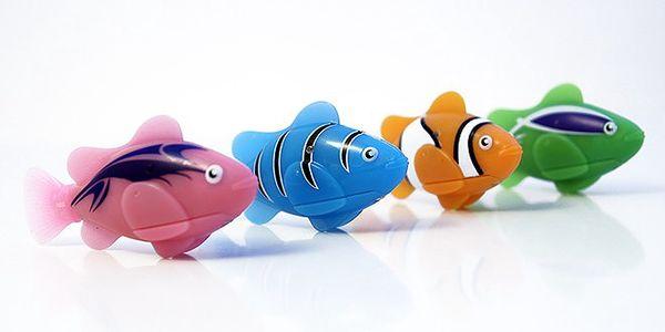 Robotická ryba – 2 ks včetně poštovného