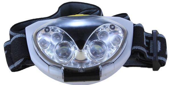 6 LED diodová čelovka na 3x AAA baterie a poštovné ZDARMA! - 2507060