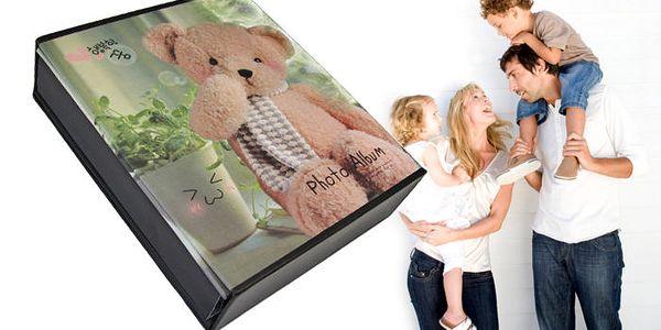 Fotoalbum s roztomilým motivem medvídka