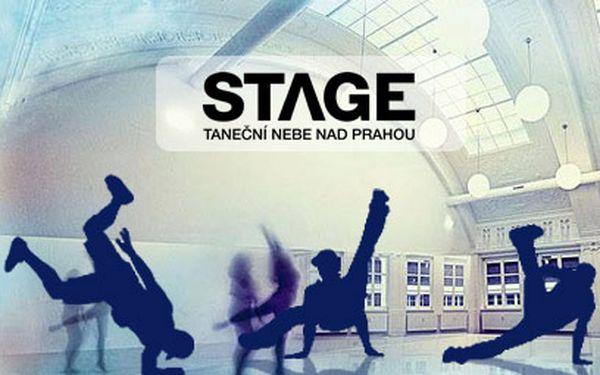 Kurzy tance od 499 Kč! 5, 10 lekcí nebo semestr v Tanečním studiu STAGE!