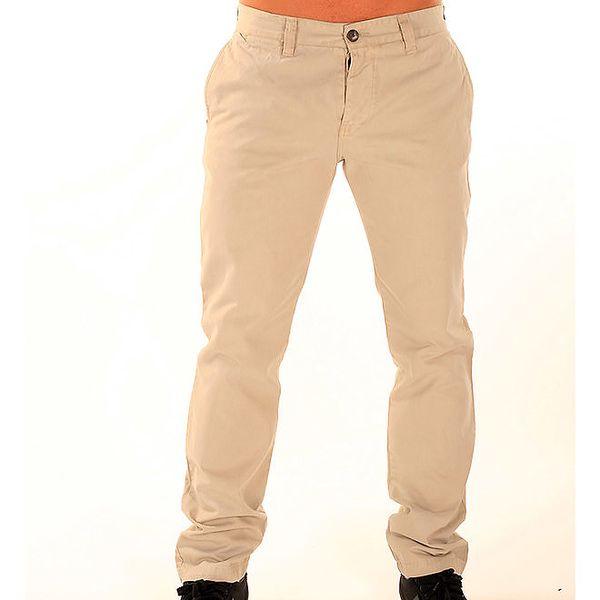 Pánské smetanové chino kalhoty New Caro