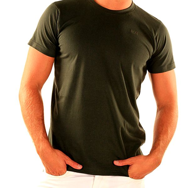 Pánské zelené tričko s krátkým rukávem New Caro