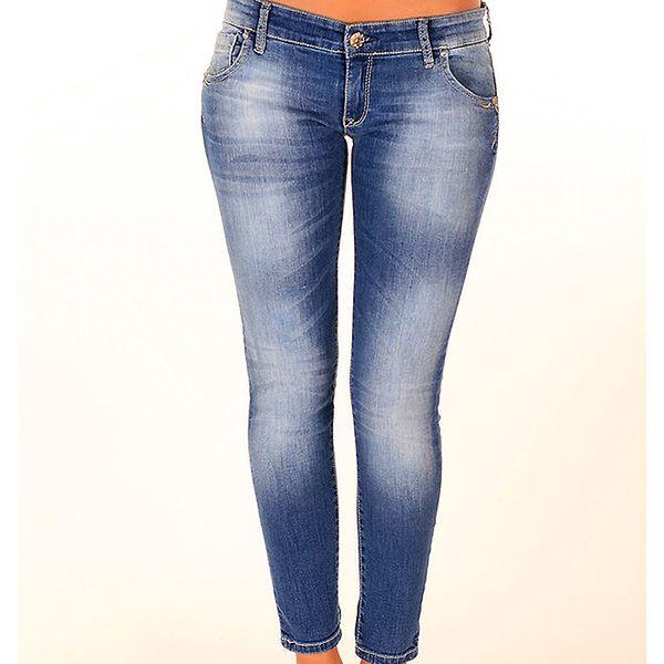 Dámské modré skinny džíny New Caro