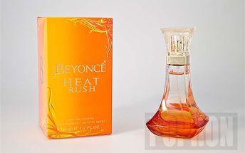 Beyonce Heat Rush toaletní voda pro ženy 50 ml