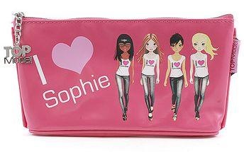 Školní penál taštička Top Model Sophie, Top Model