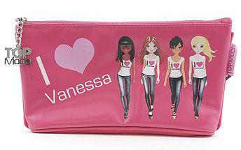 Školní penál taštička Top Model Vanessa, Top Model
