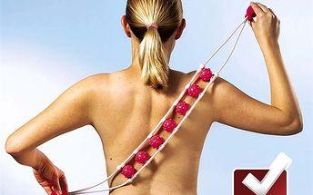 Masážní pás s kuličkami. Bolí vás záda? Tento masážní pás s kuličkami vám zaručeně uleví!