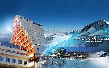 Dovolená na Štrbském Plese V moderním hotelově apartmánovém resortu PANORAMA ve VYSOKÝCH TATRÁCH již od 3348 Kč! Užijte si relax s nádherným výhledem na Vysoké Tatry!