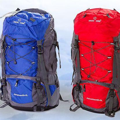 Špičkový expediční batoh Snow Wind o obsahu 55l ve 2 barvách