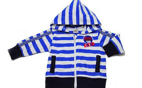 Modrá mikinka s kapucí Sailing Club