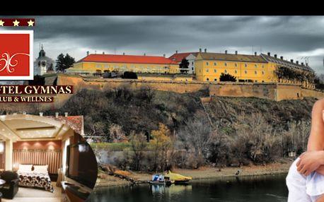 3denní wellness pro dva v novi sadu v autonomní srbské oblasti vojvodina se slevou 64 %: 2lůžkový deluxe pokoj v hotelu gymnas, snídaně, vstupenky do arény cineplex, masáž chodidel, láhev vína, perfektní hotelový servis a mnoho dalšího.