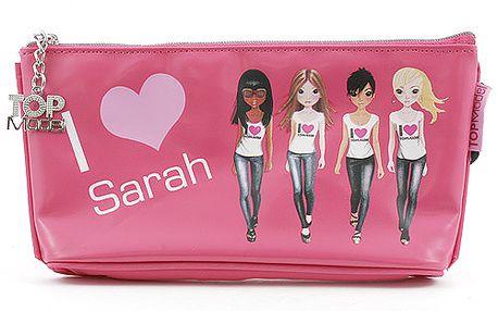 Školní penál taštička Top Model Sarah, Top Model