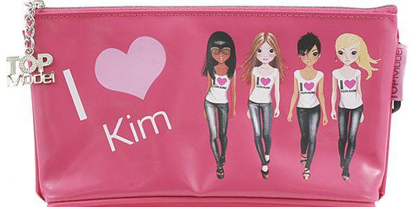 Školní penál taštička Top Model Kim, Top Model