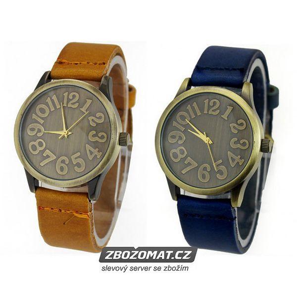 Páskové hodinky Unisex ve dvou módních barvách!