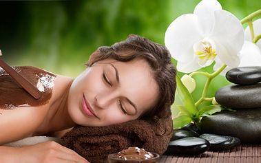 Vánoční čokoládová masáž zad pravou čokoládou v kombinaci s lávovými kameny jen za 299 kč! Při zábalu si můžete užívat relaxační masáže plosek nohou! Dopřejte si maximální relax a uvolnění s jedinečnou slevou 57%!