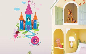 Dekorační samolepky - Zámek pro princeznu
