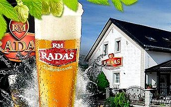 Jedinečná prohlídka pivovaru RADAS s ochutnávkou piva, které chutná jako tenkrát v Nošovicích