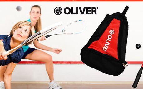 Squashový set zn. Oliver - raketa, batoh a míček