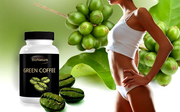Green Coffee Bean extrakt na hubnutí s poštovným v ceně