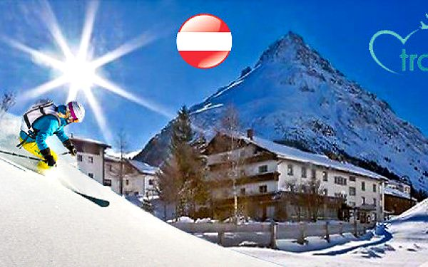 Rakousko - Lyžařská zábava na vesnice Ischgl