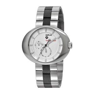 Pánské hodinky Replay střírné zdobený řemínek