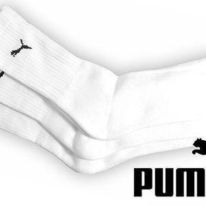 Vysoké sportovní ponožky Puma – 3 páry