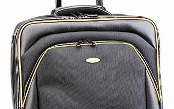 Cestovní taška na notebook na kolečkách a výsuvným madlem