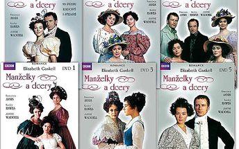 Balíček - Manželky a dcery, 6 DVD pošetka