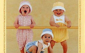 """Puzzle Anne Geddes """"Začínající gymnasté"""""""